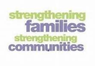 Strengthening families, strengthening communities logo