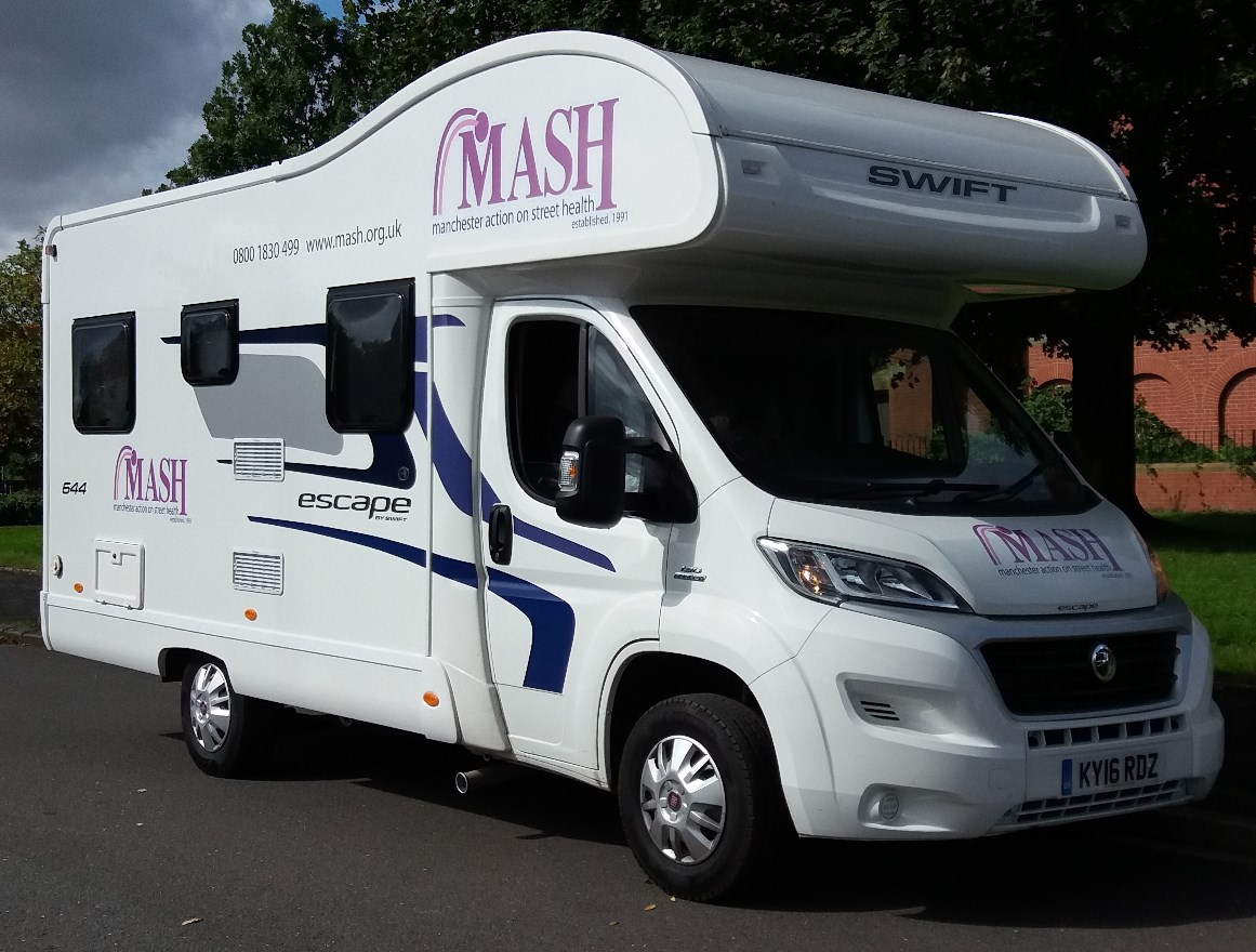 MASH mobile drop-in