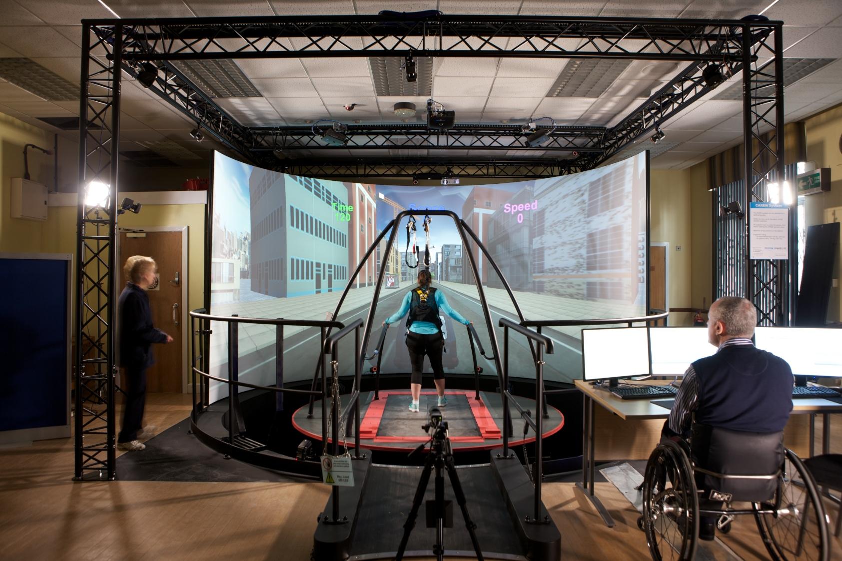 CAREN - Computer Assisted Rehabilitation Environment