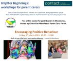 Encouraging positive behaviour workshop
