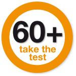 60+ take the test