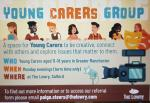 Flyer for young carer group