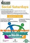 Social Saturdays Poster
