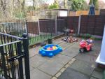 All weather outdoor play area