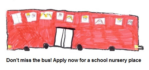 Bus - Nursery class admissions