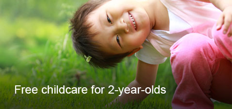 Free childcare for 2-year-olds