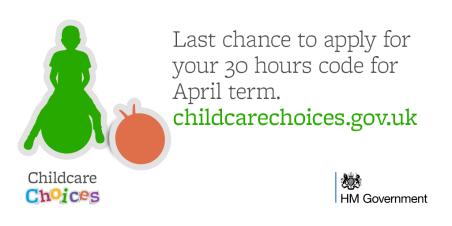 30 hours April reminder