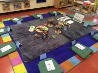 The room at the Early Learning Together Stepping Stones English Course