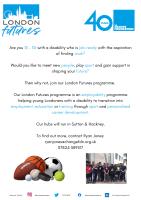 London Futures Flyer