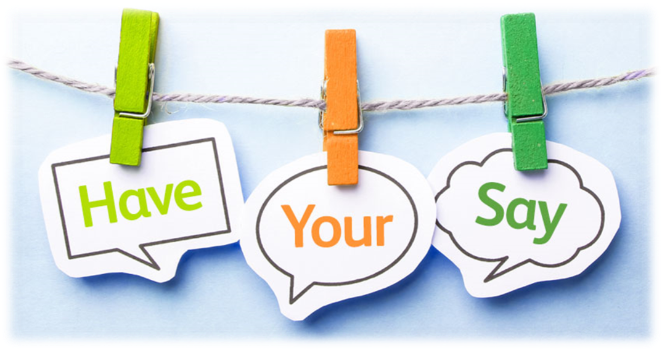 Have Your Say washing line Image