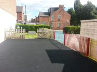 Our large outdoor play area