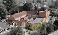 Arial view of Cassiobury Court, Watford