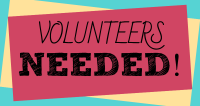 Volunteers Needed logo