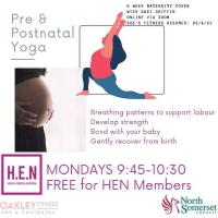 pregnancy and post-natal yoga