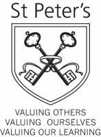 St Peter's Primary school logo