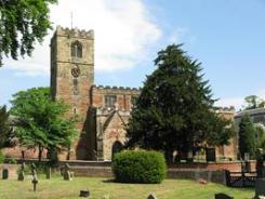All Saints church, Strelley village