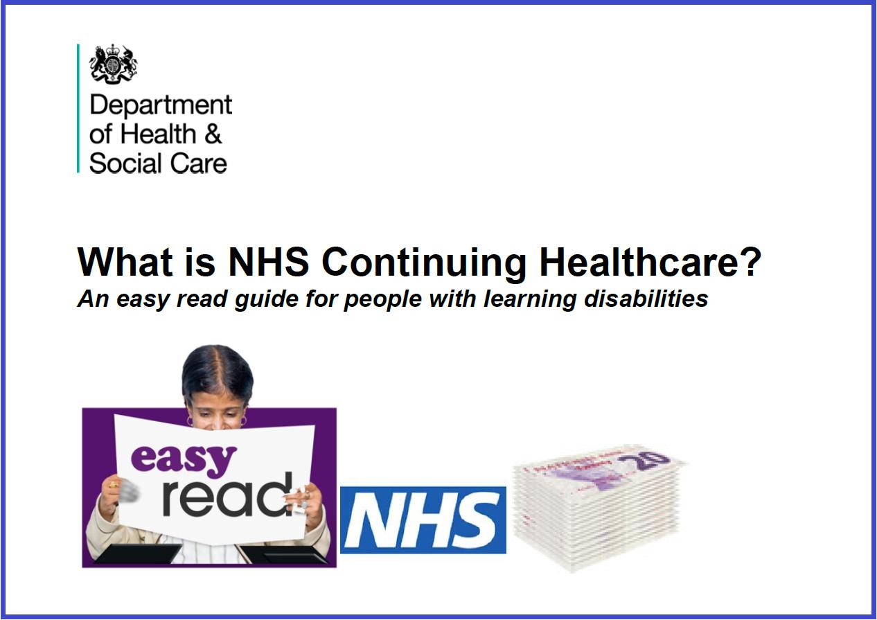 Continuing Healthcare Easy Read