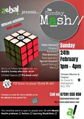 February Sunday Mash details!