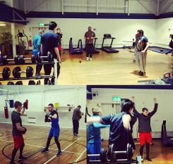 Activity photos - Boxing