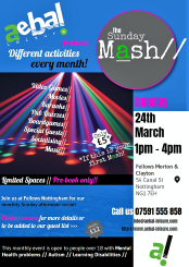 March Sunday Mash Flyer