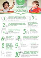 10 steps to a healthy toddler