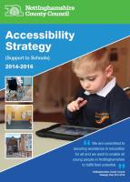 Accessibility Strategy