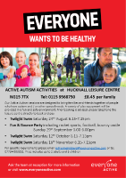 Active Autism Activities at Hucknall Leisure Centre