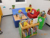 Indoor reading area
