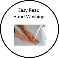 Easy Read hand washing