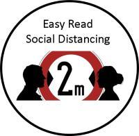 Easy read Social Distancing