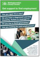 Get support to find employment