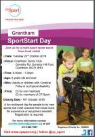 Grantham SportStart Day