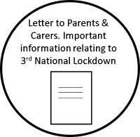 Important information relating to the 3rd National Lockdown