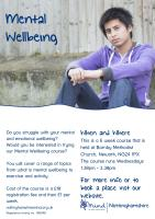 mental wellbeing poster