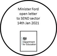 Minister Fords open-letter-SEND-Sector Jan 2021
