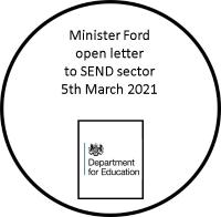 Ministers Letter 5th March 2021