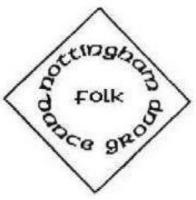 Nottingham folk dance group logo