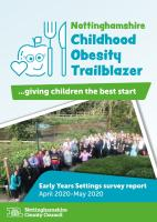 Early Years Survey Report Cover