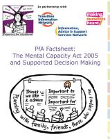 PfA Factsheet:
