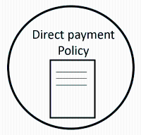 Direct payment policy