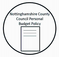 Nottinghamshire County Council Personal Budget Policy