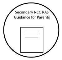 Secondary NCC RAS Guidance for parents