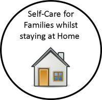 self care for families whilst staying at home