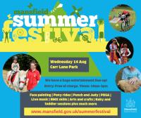Summer Festival Carr Lane Park 14/08/2019