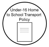 Under 16 Home to School Policy