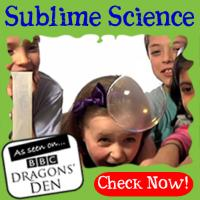 Sublime Science Party Logo