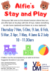 Alfie's Stay and Play Poster