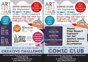 Art Haus Club - Comic Club & Super Sundays | Family