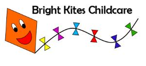 Bright Kites Childcare Logo