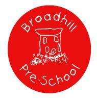 Broadhill Pre-school logo